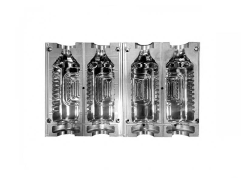 2-Cavity Automatic Blowing Mold (7075 Aluminum)