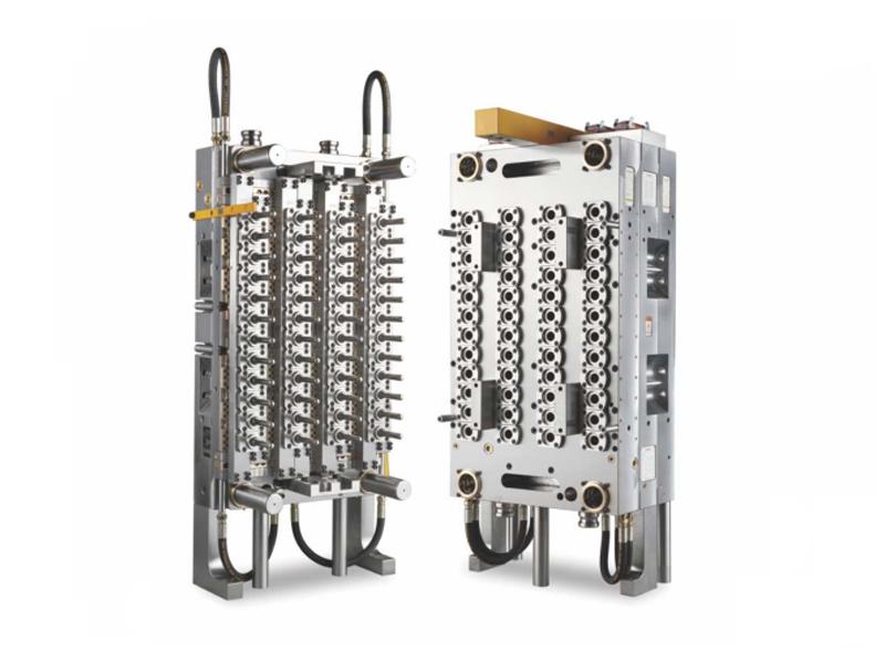 48-Cavity Pneumatic Needle Valve PET Preform Mold