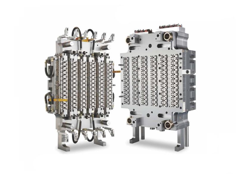 72-Cavity Pneumatic Needle Valve PET Preform Mold