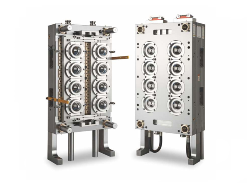 8-Cavity Wide Mouth Preform Mold