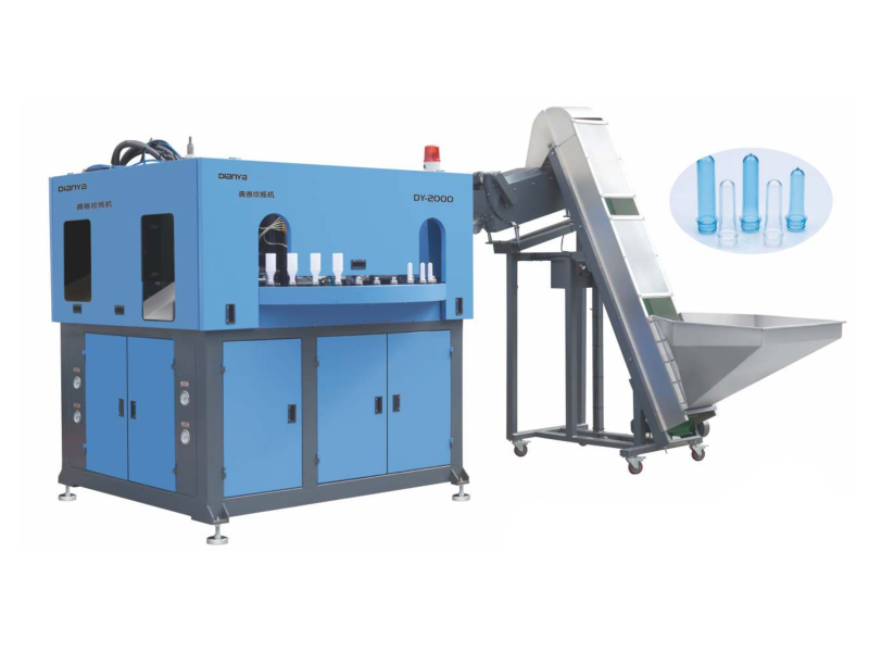 2 Cavity 2L-Standard Neck Full Automatic Hand-Feeding Blow Molding Machine