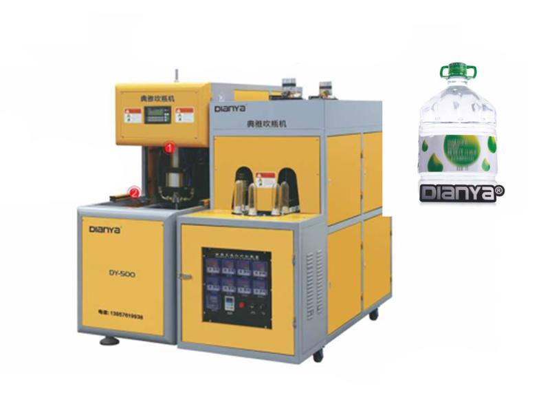 1-2 Cavity 6L Semi-Automatic Blow Molding Machine