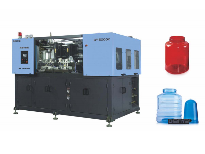 2 Cavity 6L Full Automatic Blow Molding Machine
