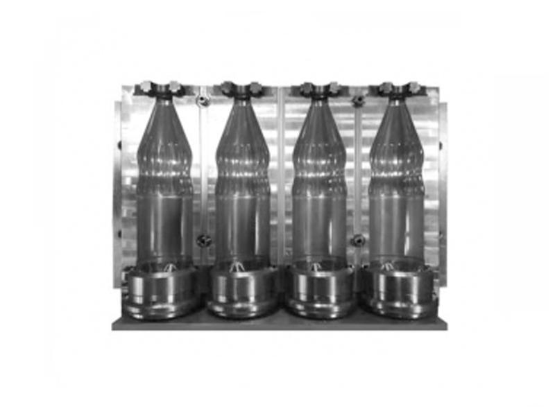 4-Cavity Automatic Blowing Mold (7075 Aluminum)
