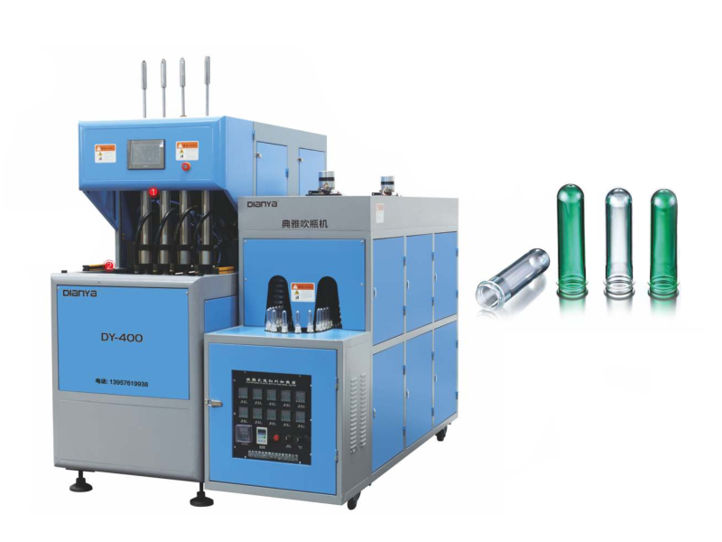 2-4 Cavity 2L Semi-Automatic Blow Molding Machine