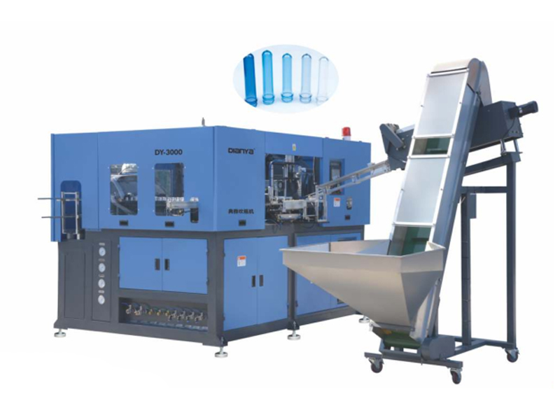 3 Cavity 2L High Speed Full Automatic Servo Blow Molding Machine