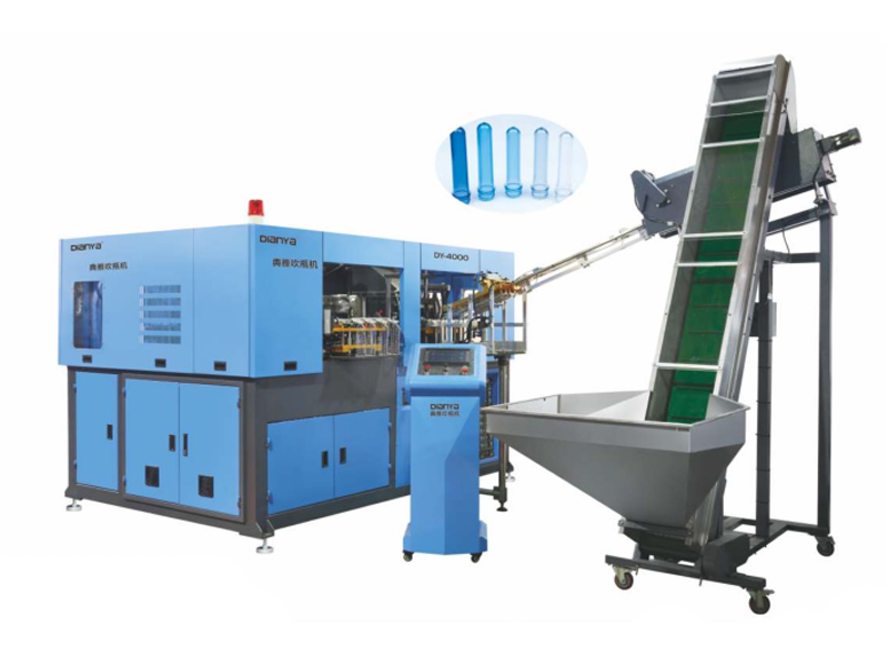 4 Cavity 2L High Speed Full Automatic Servo Blow Molding Machine