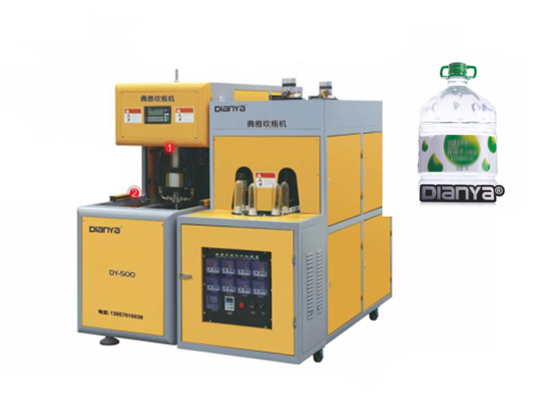 Semi-Automatic Blow Molding Machine (1 Cavity)-6L/  Semi-Automatic Blow Molding Machine (2 Cavity)-6L