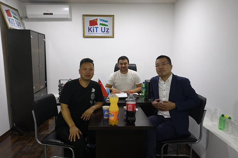Customers from Uzbek