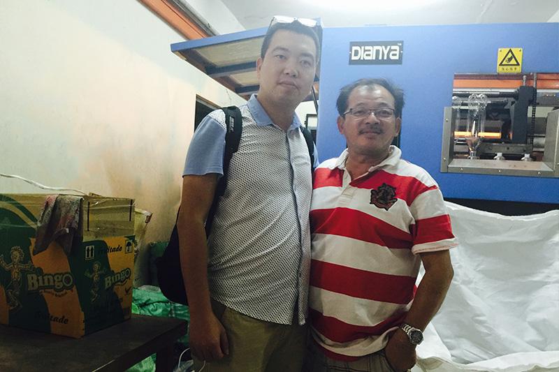 Customers from Malaysia